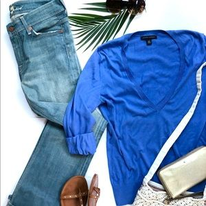 7for All Mankind bootcut jeans & B Rep sweater set